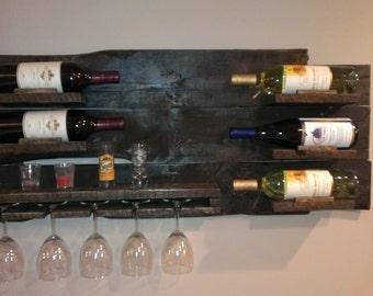 pallet furniture etsy. rustic pallet wine rack wood furniture etsy t