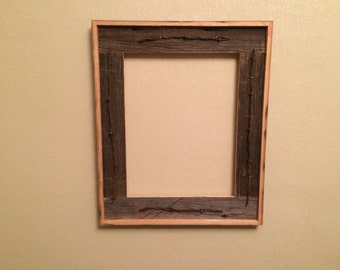 items similar to wholesale lot 30 5x7 flat barn wood picture frames on etsy. Black Bedroom Furniture Sets. Home Design Ideas