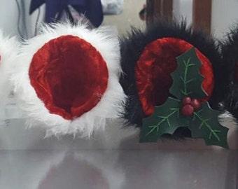 Bear ears hoilday christmas