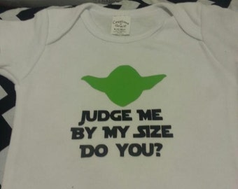 Yoda Custom onesie