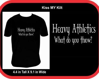 KMK21 Heavy Athletics Shirt One Tee/ Hoodie