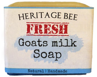 Handmade Soap  ~ Made with Organic Goats Milk ~ All Natural