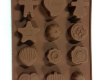 TAAVI Kids' Fun Shapes Silicone Candy Mold (T-816)