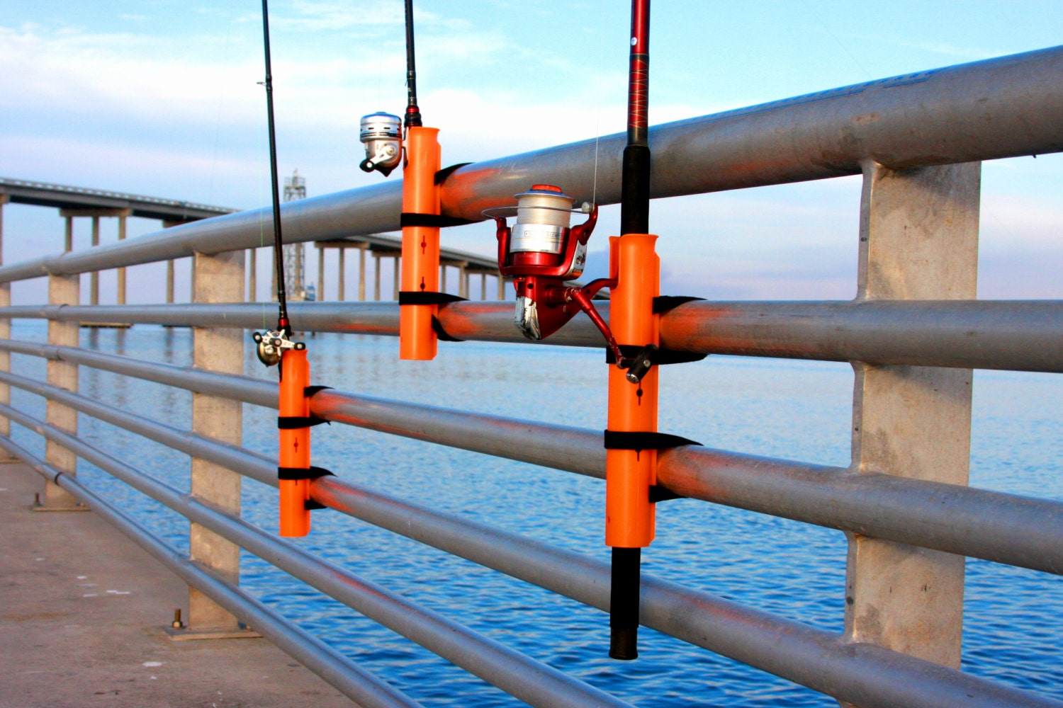 pier a mount fishing rod holder by fishing101 on etsy