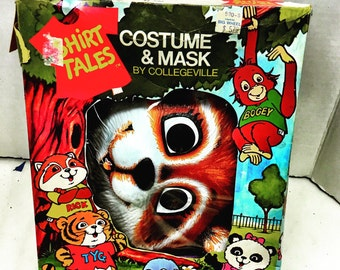 Rick racoon costume from shirt tales by collegeville 1980s