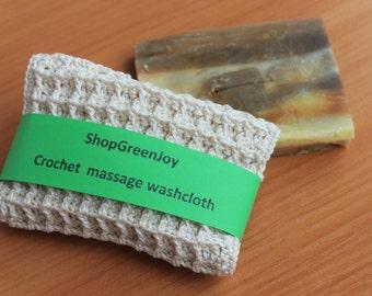 Gift under 10 Simple gift Bath accessories set washcloth and soap sample Set for shower Set for bathroom Organic soap washcloth Bath crochet