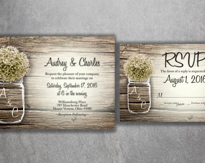 Affordable Wedding Invitations Cheap Rustic Country Invites for – Rustic Wedding Invitations Cheap