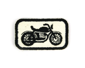Motorbike Vintage Patch