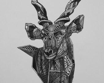 Eland Animal Print