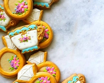 Bridal Afternoon Tea Cookies