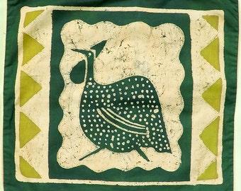 Guinea Fowl Cushion Cover