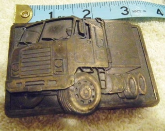 Bendix Vintage Semi Big Rig Belt Buckle