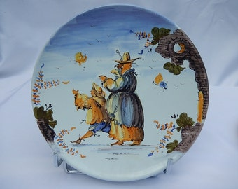 Plate by Fenice ALBISOLA nineteenth
