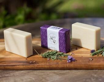 Handmade 100% Olive oil Soap - Lavender