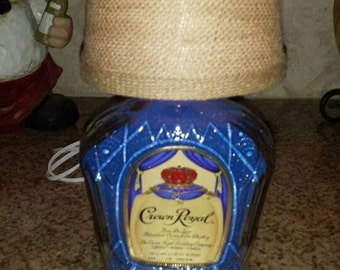 Crown Royal Lamp