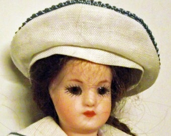 """Antik Repro doll from """"Simon & Halbig"""", approx. 17 cm (39)"""