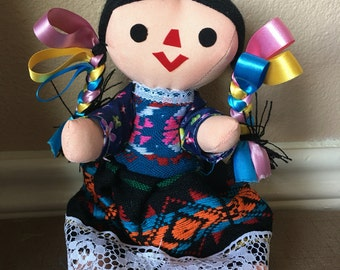 Mexican Doll Etsy