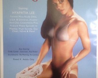 Sweet Young Foxes Adult Movie Poster, Hyapatia Lee ;Bonus, Bonus, Bonus-see below