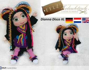 Dianna Disco - Crochet Pattern