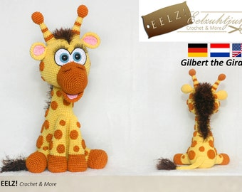 Gilbert the Giraffe - Crochet Pattern
