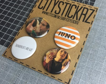 JUNO INSPIRED BADGES