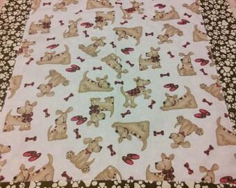 Handmade Receiving Baby Blanket