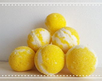 Lemon Merengue Bath Bomb Fizzies