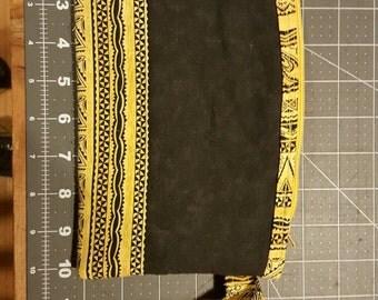 African print wristlet