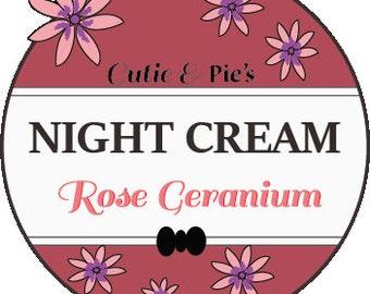 Rose Geranium Night Cream