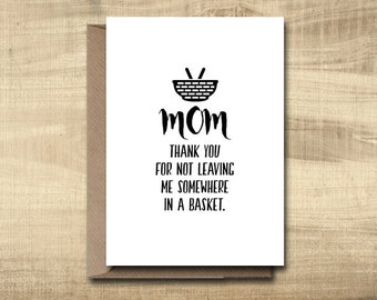 Printable Mother's Day Card -- Make Your Own Cards at Home, instant download, DIY Card, digital download, print at home