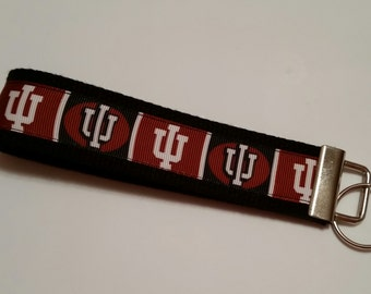 Indiana University Key Fob Wristlet