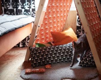 IKEA MATTRAM  Fabric, Orange /Width 150 cm