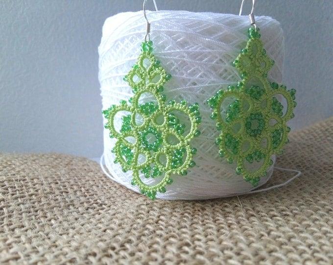 chic earrings handmade