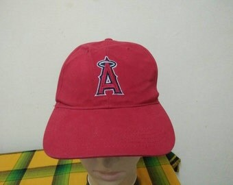 Rare Vintage ANAHEIM ANGELS Cap Hat Free size fit all