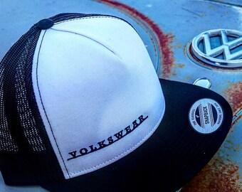 Volkswear Classic Snapback Ball Cap.  Volkswagen.