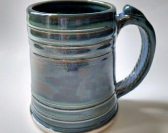 Mottled Blue Stein