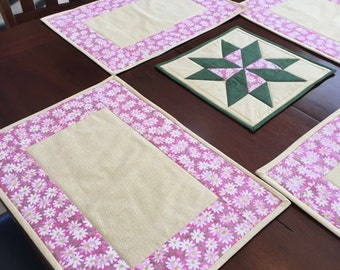Spring Daisy Placemats