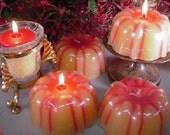 9 oz Bundt Cake Candles-Strawberry Cheesecake 6 Pack
