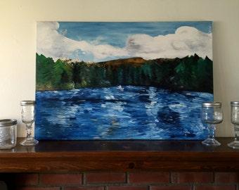 Lake Hume Painting