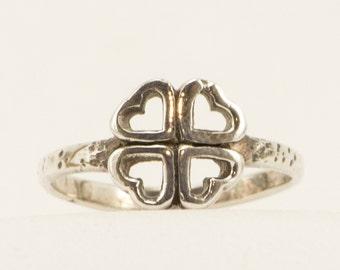 Handmade Sterling Silver Heart Ring!