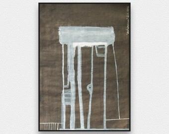 Abstract Art, Painting, Contemporary Art, Wall art, Abstract Painting, Fine Art, Painting, Arte decor, home decor, office decor, Dark, Grey
