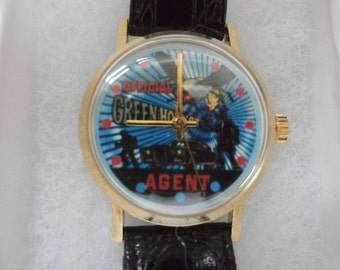 The Green Hornet Official Wind Up Watch 1970's