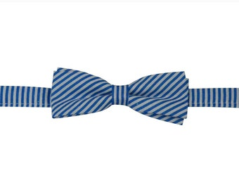 Blue bow ties, coloured bow ties,   toddlers boys bow ties, shop bow ties, slim bow ties