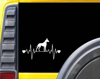 Great Dane Lifeline Window Decal Sticker *I220*
