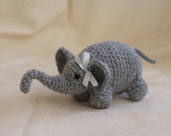 Baby Elephant Plush Crochet Pattern