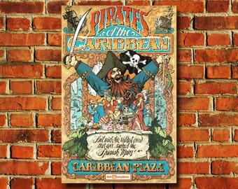 Disney Pirates Of The Caribbean Poster - #0617