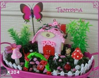Garden Arch Miniature Fairy Garden Kit with Plants