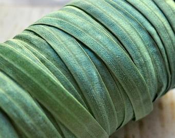 Solid Fold Over Elastic - Five or Ten Yards - Pistachio