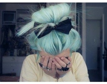Mint Green Hair Chalk - Salon Grade - Temporary - Non-Toxic
