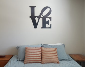 Love Sign Metal Art